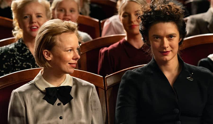 Alma Pöysti ja Krista Kosonen näyttelevät Tove Janssonia ja Vivica Bandleria.