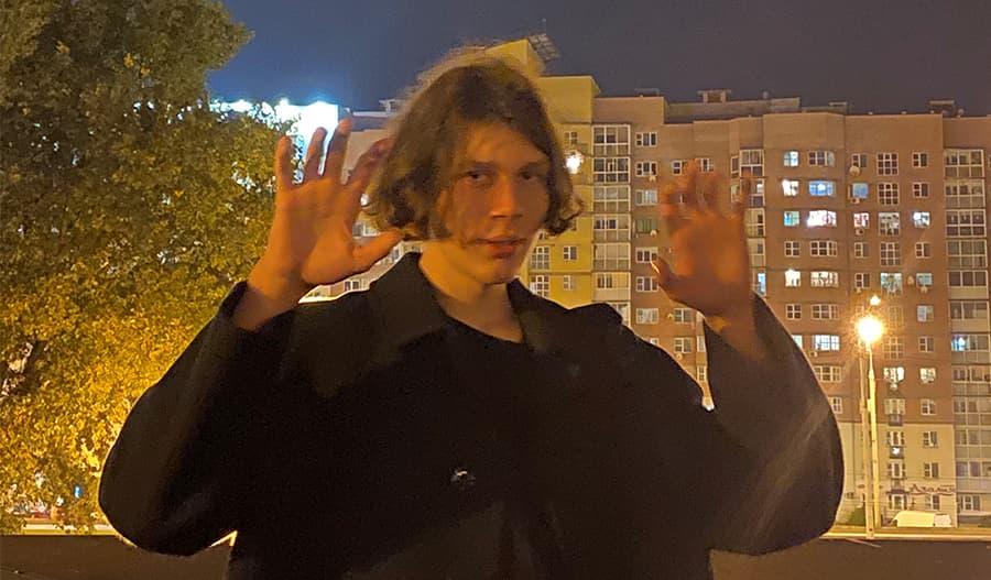 16-vuotias Piotr Kiryk.