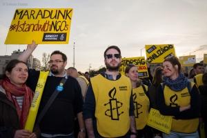 Amnestyn mielenosoitus