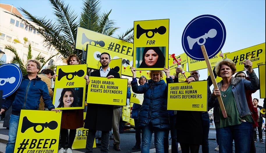 Mitä Amnesty tekee?