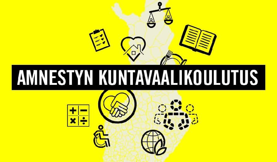 Osallistu Amnestyn kuntavaalikoulutukseen