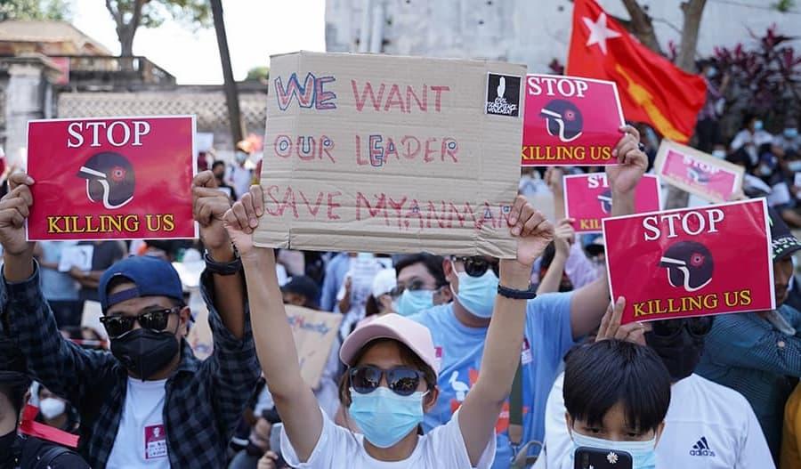 Myanmarin armeijan sorrolle loppu