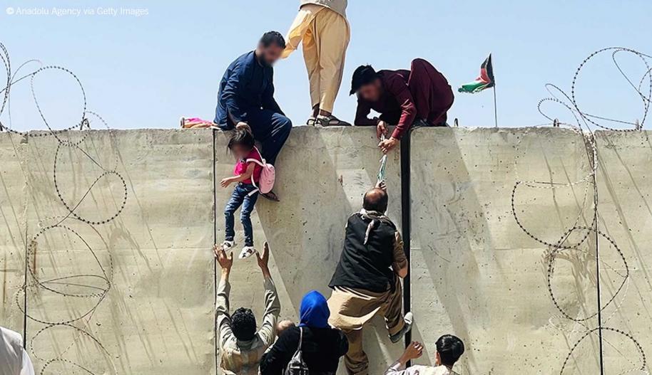 Tilanne Afganistanissa on  vaarallinen - Toimi nyt!