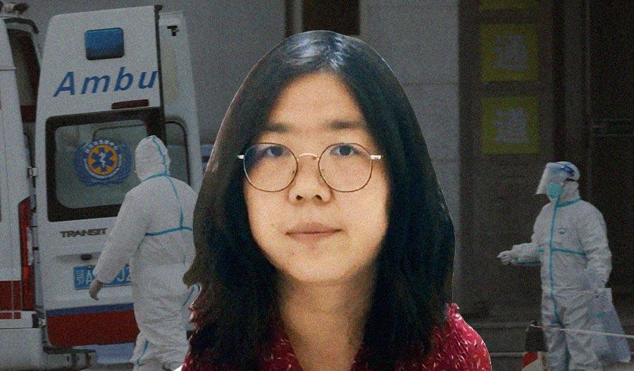 Kidutettu toimittaja Zhang Zhan on vapautettava!
