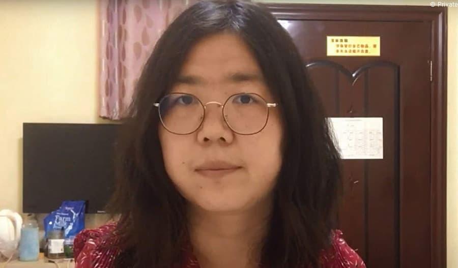 Toimittaja Zhang Zhan on vapautettava